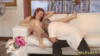 Teen cam and takes it like pro Unexpected practice with an older image