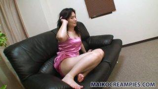 Image: Japanese Chisato Miura goes crazy from ardent masturbation