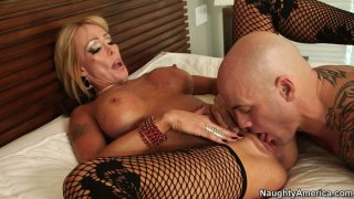Fuck voracious Houston gets her pussy licked_and fucked_doggy image