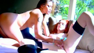 Stunning Charmane Star gets her twat pleased with a dildo_by Dani Jensen image