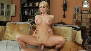 Image: Buxom and fuck voracious blondie Phoenix Marie loves to get her twat poked doggy
