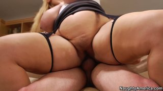 Blonde mature whore Samantha_38G got the ugliest ass in the world image