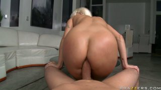 Jaw droping blonde Holly Halston gets her butt hole analized image