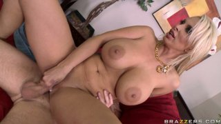 X-rated Holly Halston gets nailed hard by Sonny Hicks image