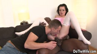 Cuckolding Wife Inga Devil Gets Her_Asshole Stretched by a BBC image