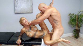 Image: Tattooed Bonnie Rotten gets pussy drilled by Jmac