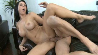 Appetizing milf Dylan Ryder gets fucked from behind image
