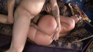 Crummy Kelly Devine sucks and rides a cock like a mad nympho image
