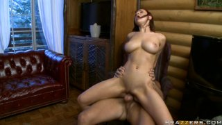 Seductive Amy Ried fucks Keiran Lee passionately in various positions image