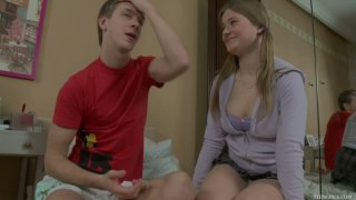 Barely legal busty cutie Gracie gets laid with Matthew Sex image