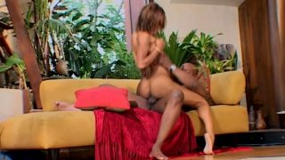 Unforgettable pussy pounding of ebony chick Marie Luv image