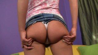 Image: Shaye Bennett shows her perky nipples off