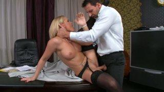 Hot seductress Kathia Nobili's dreams come_true image