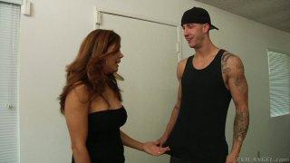Image: Cougar slut Francesca Le gets her knockers sucked hard by Chris Strokes