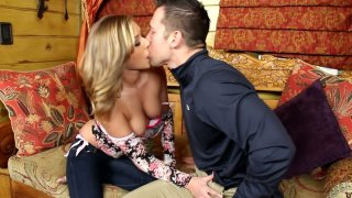 Blonde babe Kennedy Leigh begs for cock_and gets_it image