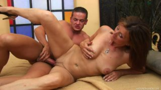 Mature wench Dorothy gets pleased by her young lover John S image