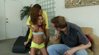 Image: Exotic Francesca Le orders Sheena Shaw participate in threesome with Mark Wood