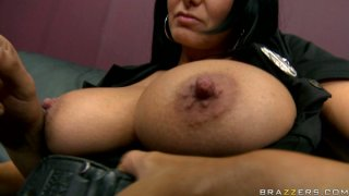 Image: Horny stud suckled Ava Addams' firm nipples and bites them softly