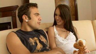 Sweet babe Jenna Presley_seduces a guy and sucks his dick deepthroat image