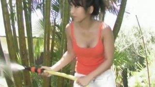 Having_fun_on_the_backyard_with_dainty_cutie_Arisa_Oda image