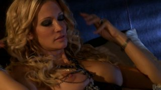 Blonde babe Jessica Drake and ebony chick  Marie_Luv can't resist each other image
