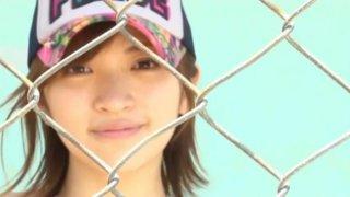 Cute Japanese teen Ryoko Tanaka loves working on camera image