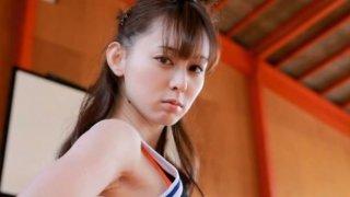 Image: Amazing basketball player Rina Akiyama shows her smooth ass