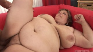 Image: BBW Zuzana gets all styles fucked by one stud