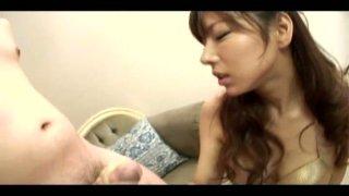Skilled oriental whore Serina Hayakawa serves her client image
