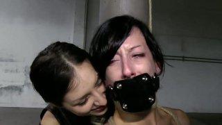Sextractive_brunette_Elise_Graves_in_sensual_BDSM_sex_video image