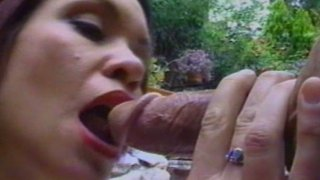 Pale skin busty redhead mom Bridgette Belle fucks_doggystyle after a blowjob image