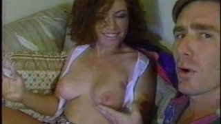 Hot cunnilingus for a frisky curly haired bitch Nikki Arizona image