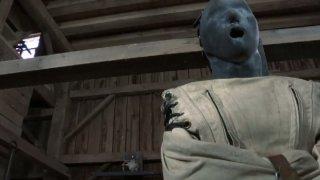 Psych Mei Mara is tormented wearing restraint jacket image