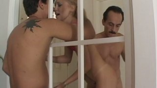 Image: Liv Wilder in piping hot group sex video