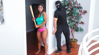 Home Invasion Turns Into Interracial Love-making Session image