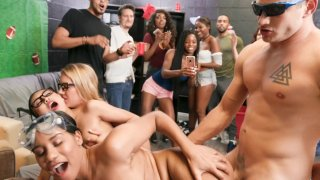 Image: Frat party turns_into fuck party