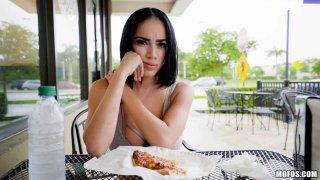 Image: Latina's Big Tits and Plump Lips