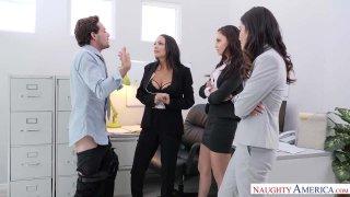 Naughty Office – Ariana Marie, Emily Willis & Sofi Ryan image