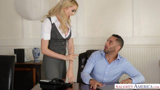 Horny Anny Aurora Experiences Her Co-Worker's Porn Star Past image