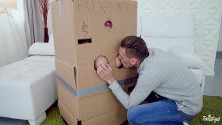 Makeshift Cardboard Gloryhole image
