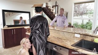 Cap And Gown Dick Down image