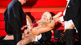 BLONDE Adriana Chechik lives the Madonna Life image