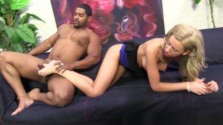 Slut Licks Cum Off Toes image