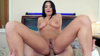French mom Anissa Kate anally rides cock in POV image