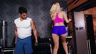 Image: Hot Milf at the gym