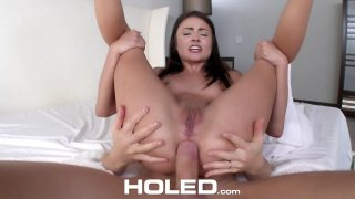 Image: Cute Adria Rae gets punished for her bad grades
