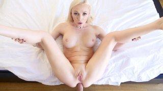 Butt Bunny Blonde's Balls Deep Buggery image