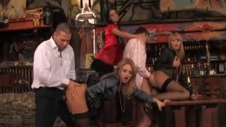 Eager Girls Enjoy A Night Out They Will Never Forget image