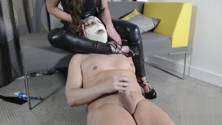 Slave Pegging and ass worship image