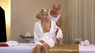 Massage leads to lustful sex image